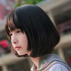 Most popular tags for this image include: Beautiful Japanese Girl, Japanese Beauty, Asian Beauty, Cute Asian Girls, Cute Girls, 3 4 Face, Japan Girl, Girl Short Hair, Asia Girl