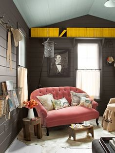 Inspired Whims: National Geographic Magazines in Home Decor