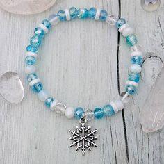 Valkyrie / ❄ Snowflake - náramek z ledového království