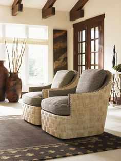 Check Out This Bryan Bay Swivel Chair From The Road To Canberra Collection.  Available At Kalin Home Furnishings In Ormond Beach, FL