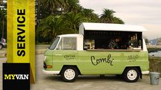 Mercedes-Benz N1300: coffee and van – a love story