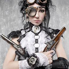 steampunk heroines | vamos a mais fotos para vocês se inspirarem!
