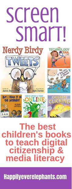 The best children's books to teach digital citizenship and media literacy