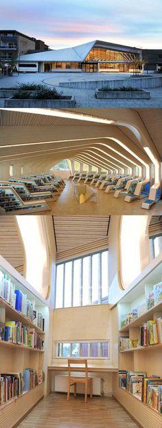 Vennesla Library and Cultural Center, Vennesla, Norway