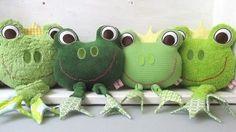 E-Book Spieluhr und Körnerkissen Frosch gewerbliche Nutzung - Nähanleitungen bei Makerist