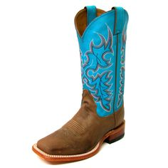 Nocona Turquoise Chester Legacy Boots $179.95