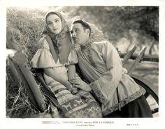 Dolores del Rio and Rod la Rocque in Ressurection, 1927