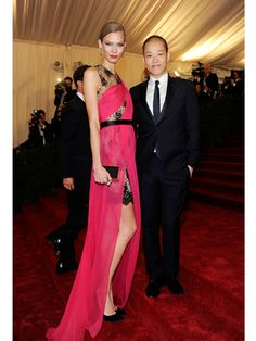 Karlie Kloss, Jason Wu at Met Ball