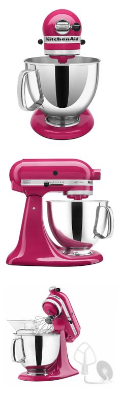 KitchenAid | Artisan stand mixer in cranberry pink #product_design