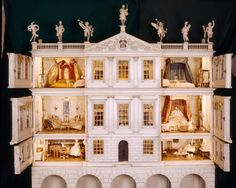Last week I joined a group of colleagues to discuss how we can better understand the dolls house at Uppark. This dolls house is a large miniature house that is also a piece of furniture, a toy and … Miniature Rooms, Miniature Houses, Fairy Houses, Play Houses, Doll Houses, Dollhouse Dolls, Dollhouse Miniatures, Dollhouse Ideas, Wooden Dollhouse