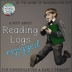 Rethinking Reading Logs for young readers