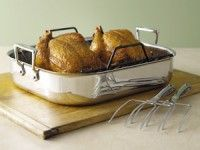 Click Image Above To Purchase: All-clad 16x13x3-in. Stainless Roasting Set With Rack