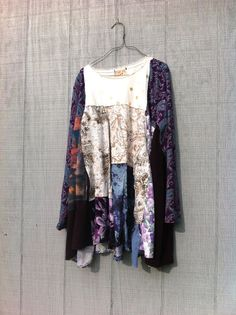 funky little romantic Dress upcycled clothing / by CreoleSha