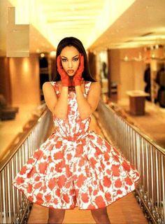 Tyra Banks pour Valentino