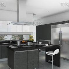 Cocinas Integrales TEKNI-K - Google+ DISEÑOS DE VANGUARDIA Las nuevas tendencias van creando  espacios abiertos, multifuncionales, que acogen varias zonas y usos, estas áreas  además de que visualmente se ven más amplias consiguen que la luz natural fluya hasta el último rincón.