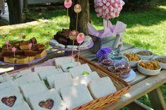 Cumpleaños Campestre y con un toque Shabby Chic. Shabby Chic Birthday party in the garden