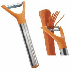 Julienne Peeler by Progressive. $7.75. Nylon and Stainless Steel Julliene Peeler.Julienne blade is perfect for making shoestring potatoes, dressing up salads and more. Pointed tip easily removes blemishes and potato eyes.