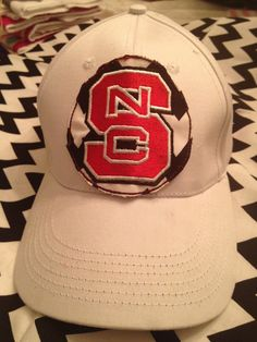 NC State monogrammed hat