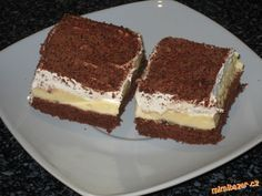 Czech Recipes, Ethnic Recipes, Soul Cake, Pavlova, Sweet And Salty, Culinary Arts, Sweet Recipes, Nutella, Deserts