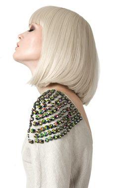 jewelled shoulder embellishment