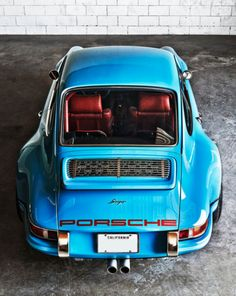 airows:  (via The Latest Remastered Porsche 911 From Singer Vehicle Design Is Incredible « Airows)