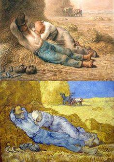 •Jean Francois Millet van gogh ile ilgili görsel sonucu