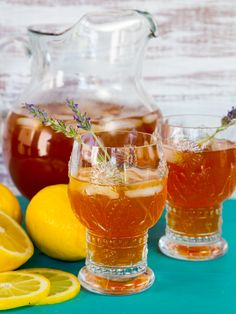 Lightly sweetened black iced tea infused with floral lavender flavor and fresh lemon juice. Crisp and refreshing, lightly sweetened.