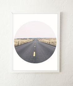 Open Road Photography Print