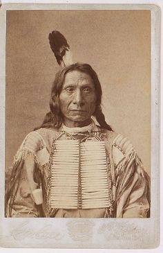 Red Cloud, 1880, by Charles Milton Bell (American, 1848–1893). Albumen silver print from glass negative