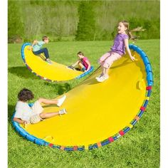 Outdoor toys for retaining children engaged all time extended and turn personal backyard right into a playground when it comes to the children along with new outdoor use tools. Backyard Toys For Kids, Outdoor Toys For Kids, Backyard Playground, Backyard Games, Fun Toys For Kids, Outside Toys For Kids, Kids Water Toys, Four Kids, Seesaw