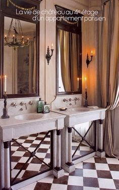 frederique mechiche paris bathroom