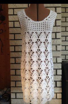 Dress Ideas Para, Crochet, Dresses, Fashion, Crochet Blouse, Blouses, Crochet Hooks, Gowns, Moda