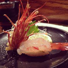 Kanpai Japanese Sushi Bar & Grill shrimp sushi