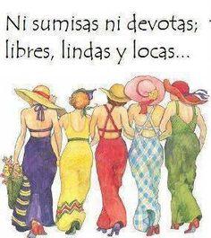 Mis cuñadas .Blanca,margarita,Clemencia Marta Lucia y Monica.Lindas como las quiero.