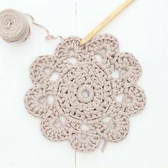 20 Fantastiche Immagini Su Sottopiatti Uncinetto Crochet Pattern