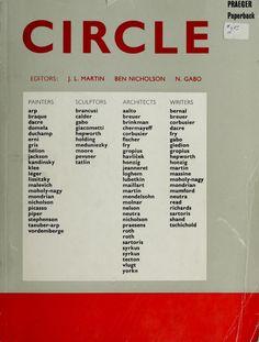 Martin Nicholson Gabo eds Circle International Survey of Constructive Art - Constructivism - Monoskop