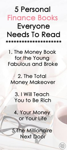 A list of the best personal finance books that you need to read asap!