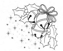 coloring for adults - kleuren voor volwassenen Christmas Card Images, Christmas Graphics, Christmas Cards To Make, Christmas Bells, Christmas Colors, Christmas Art, Arte Country, Christmas Embroidery Patterns, Theme Noel