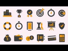 222 Animated Icons After Effects Template: