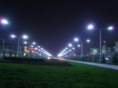 Are led street light fittings feel lonely?