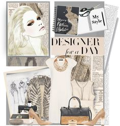 """Designer for a Day"" by edgyeve ❤ liked on Polyvore"