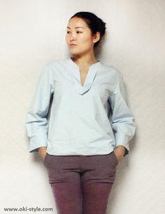 Free pattern for simple blouse ULANBATOR