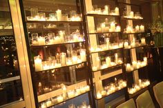 Biblioteca de velas: llamativo y fácil de armar!
