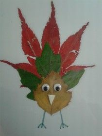 Dieren maken van herfstbladeren, leuk voor jong en oud! Fruit Crafts, Leaf Crafts, Fall Crafts, 4 Kids, Art For Kids, Crafts For Kids, Arts And Crafts, Fall Deco, Leaf Art