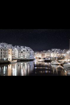 My home town Ålesund, Norway.