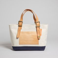 Slowdownjoe | The Superior Labor - Engineer Tote Bag Natural Navy Small | All ($200-500) - Svpply
