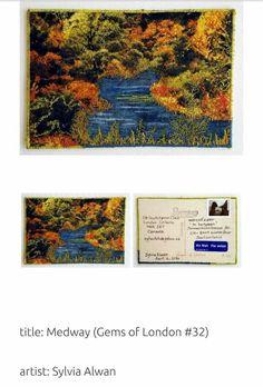 Mail Art, Gems, Artist, Painting, Rhinestones, Artists, Painting Art, Gemstones, Paintings