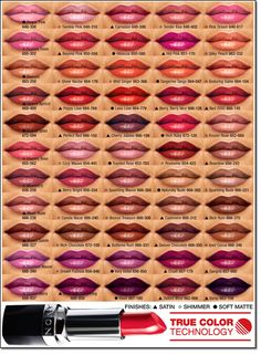 Avon's new Ultra Color Lipstick - With 55 vivid stay-true colors
