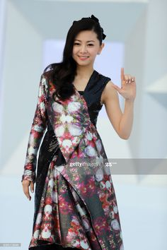 26 March, Top Ten, Music Awards, Shanghai, Cold Shoulder Dress, Chinese, Singer, Japanese, Stock Photos