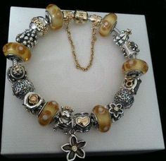 Pandora {We love the two tone and golden accents. Beautiful! -PandoraMOA}